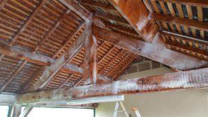 traitement bois charpente